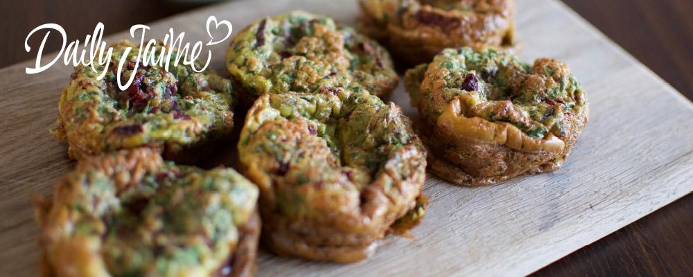 Eiermuffins vegetarisch en paleo